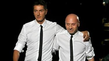 Les deux stylistes devront, en outre, reverser 500.000 euros au fisc italien.