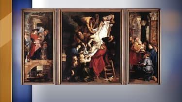 """""""La descente du Christ"""", de Rubens, censuré par Facebook"""