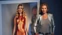 """Kate Moss, le 4 septembre 2013, prend la pose dans l'exposition """"Kate Moss – The Collection"""""""