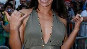 """Evangeline Lilly, une des actrices de """"Lost"""". Le dernier épisode de la série """"Lost"""", diffusé dimanche soir, a rassemblé environ 13,5 millions de téléspectateurs américains /Photo prise le 30 janvier 2010/REUTERS/Hugh Gentry"""