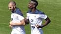 Karim Benzema et Paul Pogba