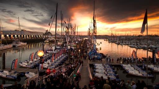 Le port des Sables d'Olonne accueille les vingt IMOCA qui prendront le départ du Vendée Globe samedi