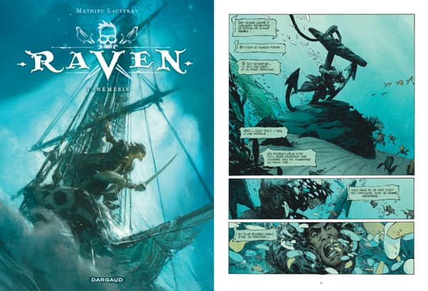 """Raven"" de Mathieu Lauffray"