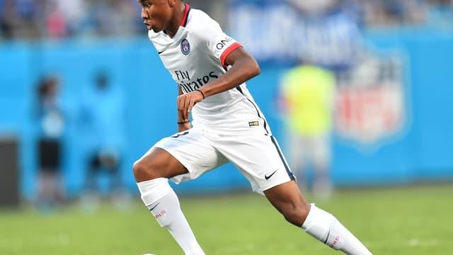 Christopher Nkunku, membre de l'équipe U19 du PSG
