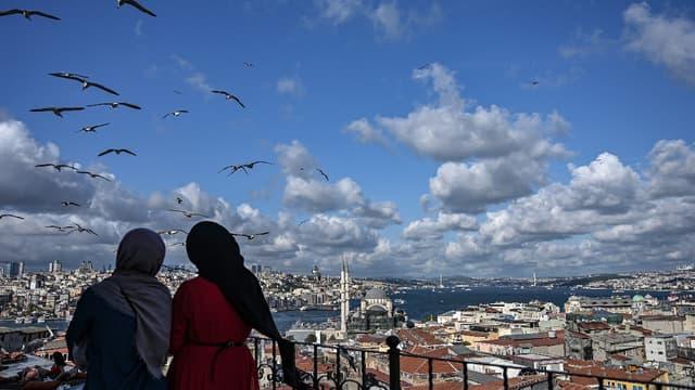 Vue d'Istanbul