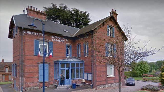 La mairie d'Auneuil, dans l'Oise.
