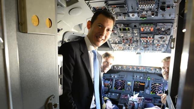 Ben Smith est directeur général d'Air France KLM depuis 2018.