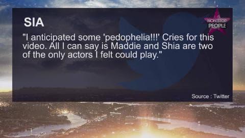 Sia et Shia Labeouf dévoilent un clip polémique pour Elastic Heart