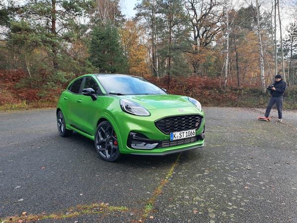 """Le Ford Puma ST arbore un ébouriffant """"vert mean"""""""