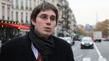 Benoit Quennedey, haut-fonctionnaire du Sénat visé par une enquête pour espionnage au profit de la Corée du Nord à Paris en novembre 2017.