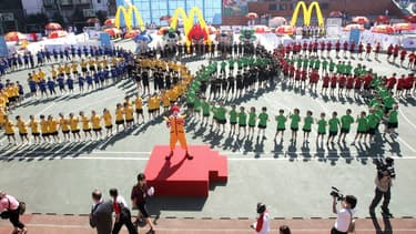 McDonald's était partenaire du comité olympique depuis plusieurs années.