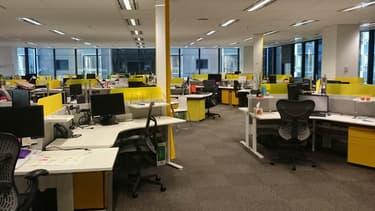 L'open space résolument désert, personne pour vous surveiller, il faut quand même trouver la motivation pour travailler.