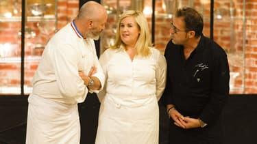 Hélène Darroze, Philippe Etchebest et Michel Sarran dans Top Chef