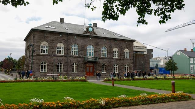 Le Parlement islandais, situé à Reykjavik
