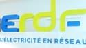 """La couleur du nouveau logo s'inspire de celle du compteur électrique """"Linky"""" progressivement déployé par l'entreprise auprès des Français."""