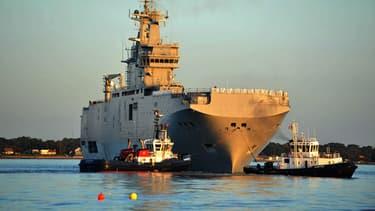 Deux navires Mistral doivent être livrées à la Russie