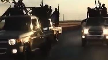 Un extrait d'une vidéo de propagande diffusée par Daesh le 23 septembre dernier.