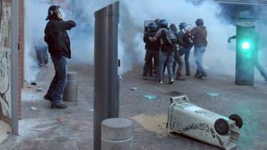 Des manifestants à Toulouse, samedi dernier.