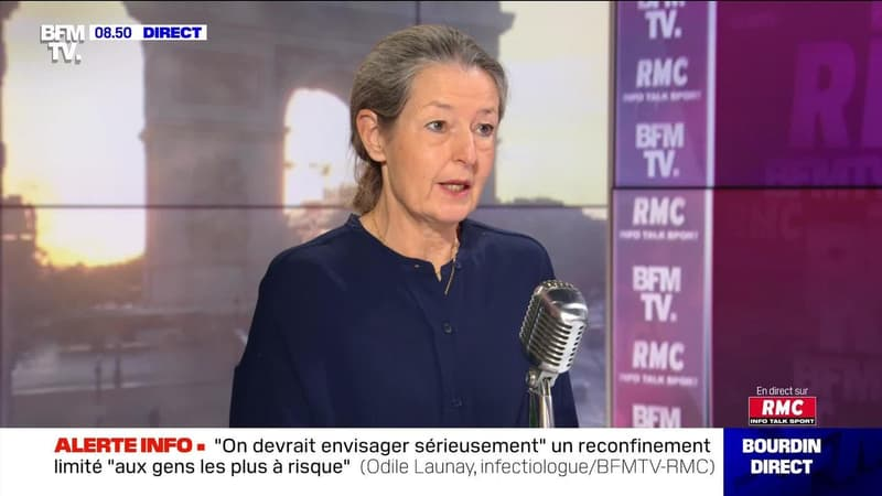 Odile Launay face à Jean-Jacques Bourdin en direct - 21/01
