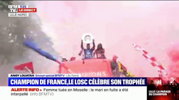 Maignan champion Lille