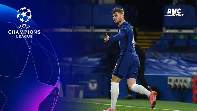 Chelsea-Real Madrid : Werner ouvre le score après un joli numéro de Kanté