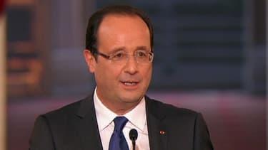 Le président de la République François Hollande aura 45 minutes pour convaincre (photo d'illustration).