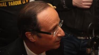 François Hollande était venu défendre Pierre Bellanger sur l'antenne de Skyrock en avril 2011