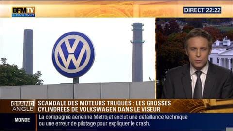Tests antipollution: Volkswagen aurait aussi triché sur les moteurs des grosses cylindrées
