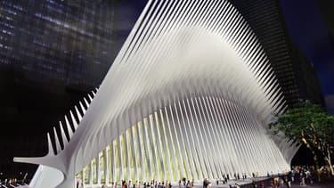 La gare du World Trade Center a mis 12 ans à sortir de terre.