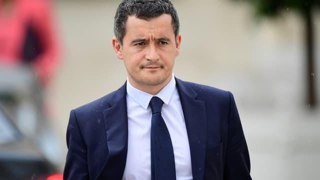 Gérald Darmanin, le 19 juillet 2017 à Paris