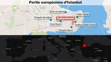 L'explosion a eu lieu dans un endroit extrêmement touristique.