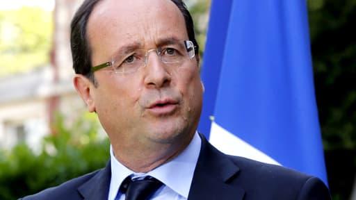 François Hollande, en juillet dernier.