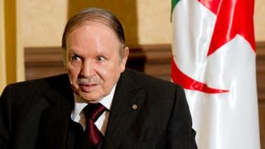 Abdelaziz Bouteflika, le président algérien.