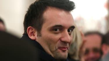 Le député européen et vice-président du Front national, Florian Philippot, le 2 mars 2017 à Paris