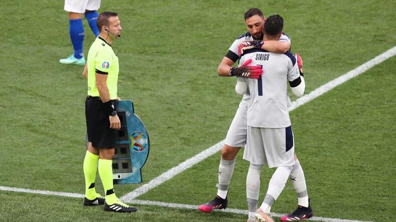 Euro 2021: La belle raison pour laquelle Mancini a fait entrer en jeu Sirigu avec l'Italie