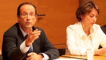 Marisol Touraine avec François Hollande