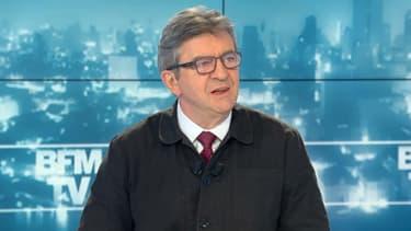 Jean-Luc Mélenchon sur BFMTV