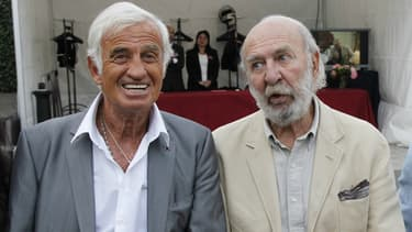 Jean-Paul Belmondo et Jean-Pierre Marielle en 2010