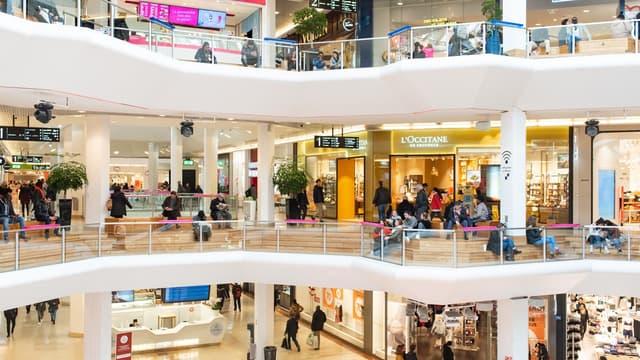 Le centre commercial de la Part-Dieu, à Lyon