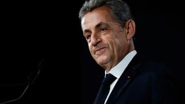 L'ancien chef de l'Etat Nicolas Sarkozy, le 21 juin 2019 à Paris
