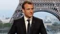 Emmanuel Macron avant son interview dimanche soir.