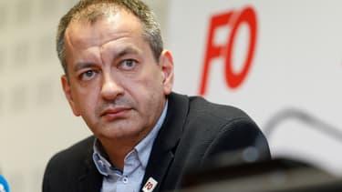 Le secrétaire général de Force ouvrière, Pascal Pavageau.