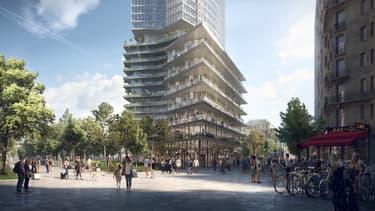 Le futur quartier Montparnasse