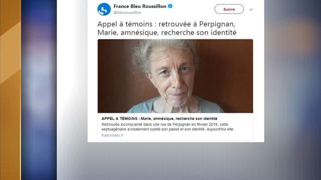 La septuagénaire a été retrouvée inconsciente dans Perpignan en février dernier.