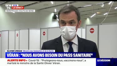 """Covid-19: Olivier Véran publiera ce mercredi """"un nouveau décret qui élargira la liste des personnes qui peuvent vacciner"""""""