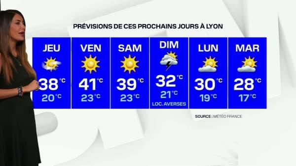 Les températures pourront grimper jusqu'à 41°C vendredi.