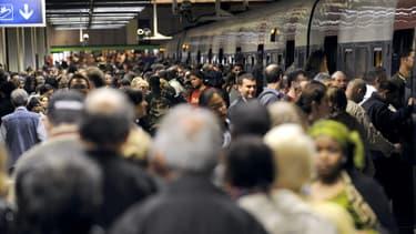 Le trafic du RER C est fortement perturbé en ce matin du mercredi 23 avril 2014.