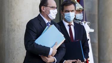 Le Premier ministre et le ministre de la Santé le 18 novembre à l'Elysée