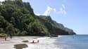 Une plage de Martinique, le 30 novembre 2018