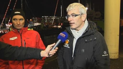 BFMTV a rencontré dimanche soir des candidats de la Transat Jacques Vabre.